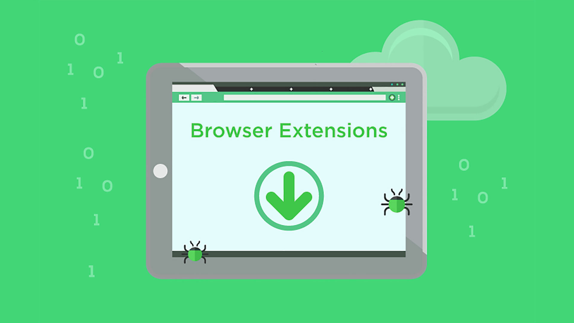 Dangerous browser extensions