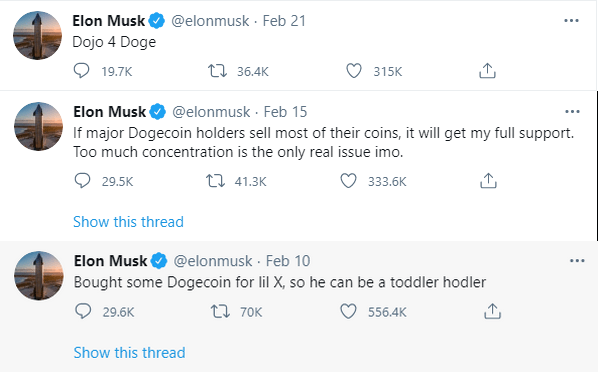 Musk and Dogecoin